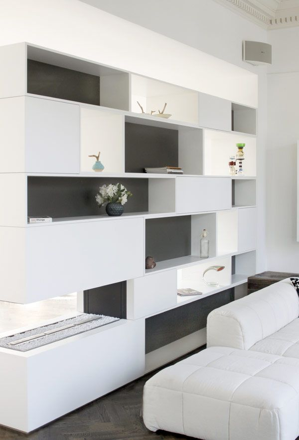 Elegant remmelt showroom in amsterdam hosted by a for Elegant wall units
