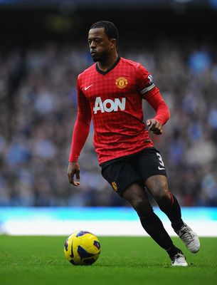 Evra captained United to an easy win at the DW.