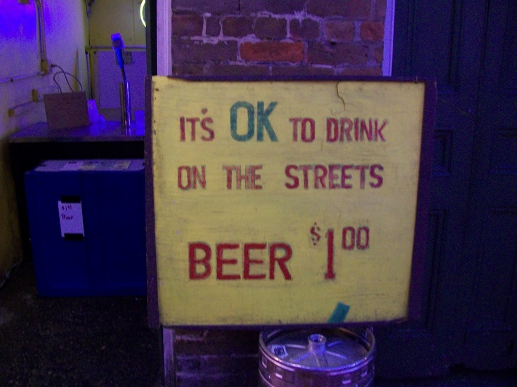 New Orleans, best city ever:) was there in 2008