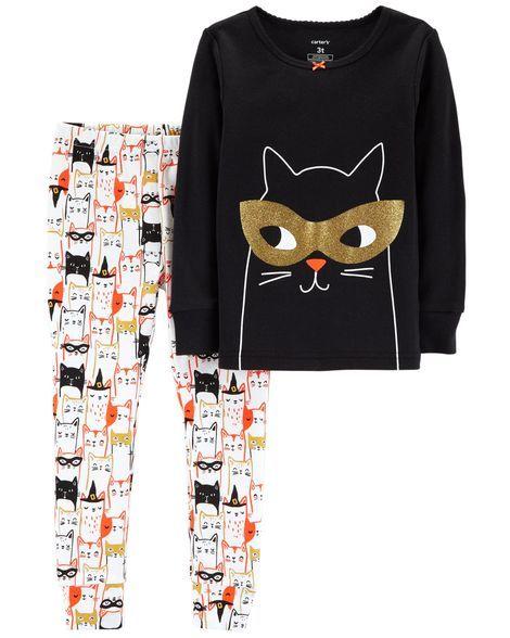 b341fc3c2 2-Piece Halloween Snug Fit Cotton PJs in 2019