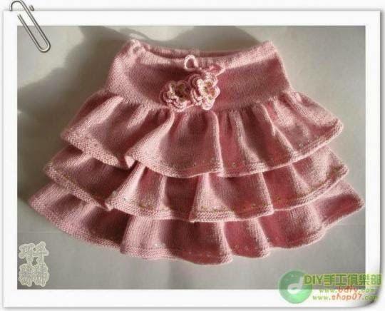 Tutorial falda hecha con palillos