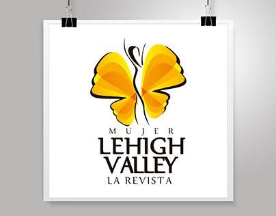 """LOGOTYPE """"MUJER LEHIGH VALLEY La Revista"""" EE.UU."""