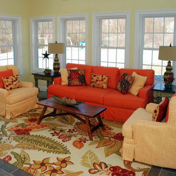Living Room Ideas Orange Sofa 729 best orange inspired decor images on pinterest | architecture