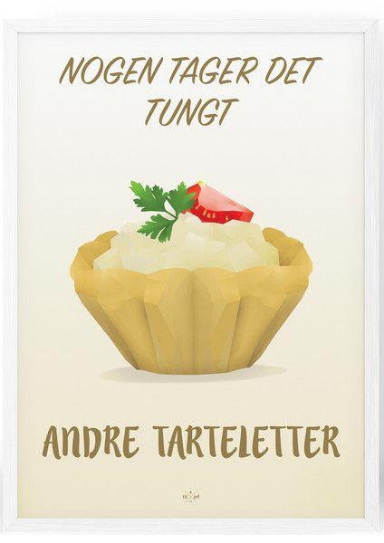 Tarteletter - Plakat fra Hipd.dk