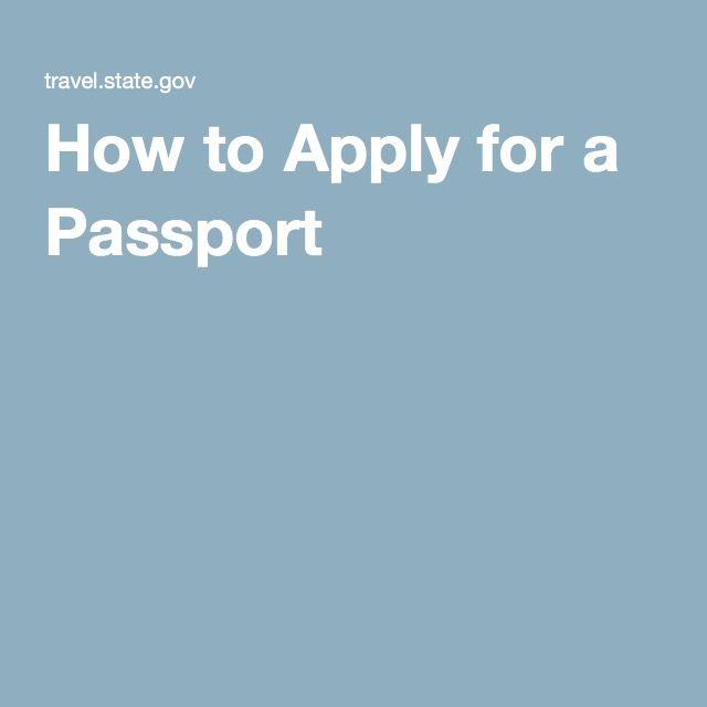 Best 25+ Online Passport Application Form Ideas On Pinterest   Passport  Consent Forms