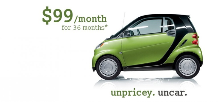 2012 pure coupe Lease for 99 per month for 36 months