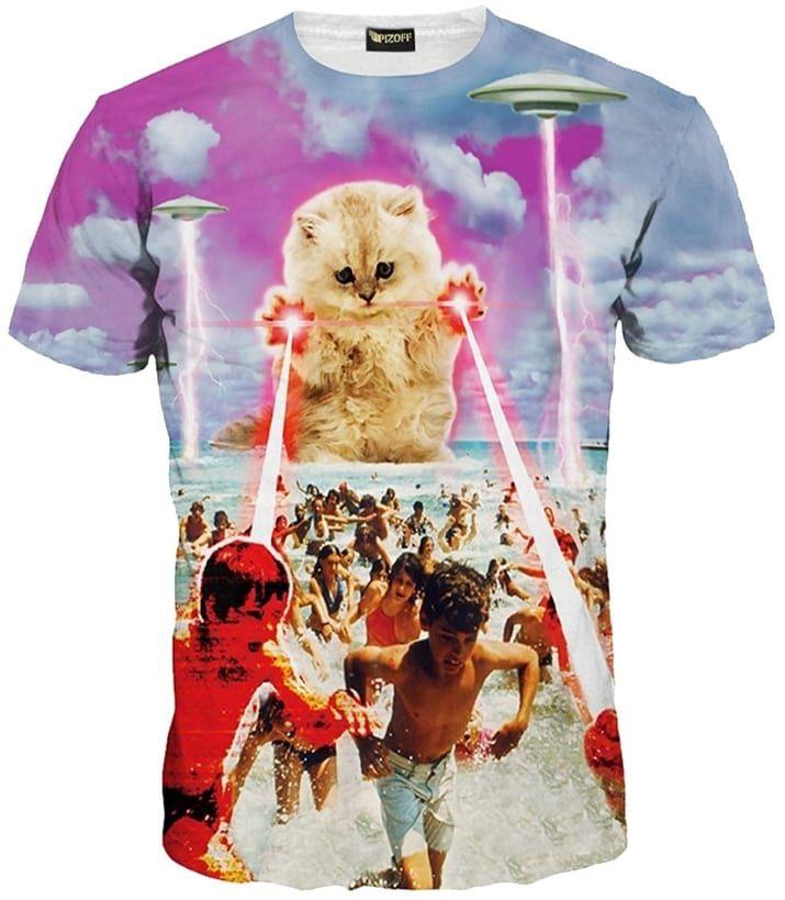 数あるピゾフの猫Tシャツの中でも、人気商品です!