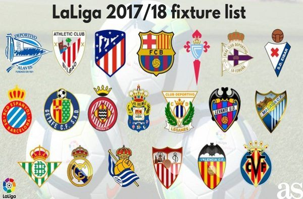 Latest and Updated Spanish La Liga fixtures, results, standings