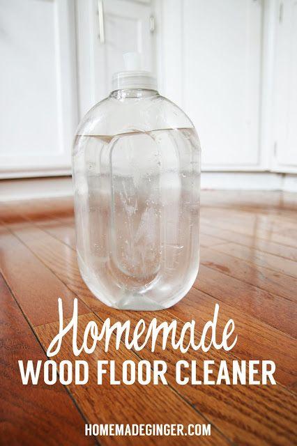 RECIPE: Homemade Wood Floor Cleaner