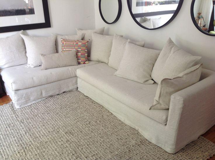 sofa funda lino linen colomba living