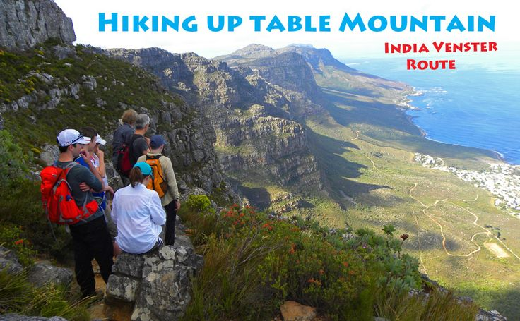 Hiking Up Table Mountain, Cape Town - the India Venster Route - The Travels of BBQboy and Spanky