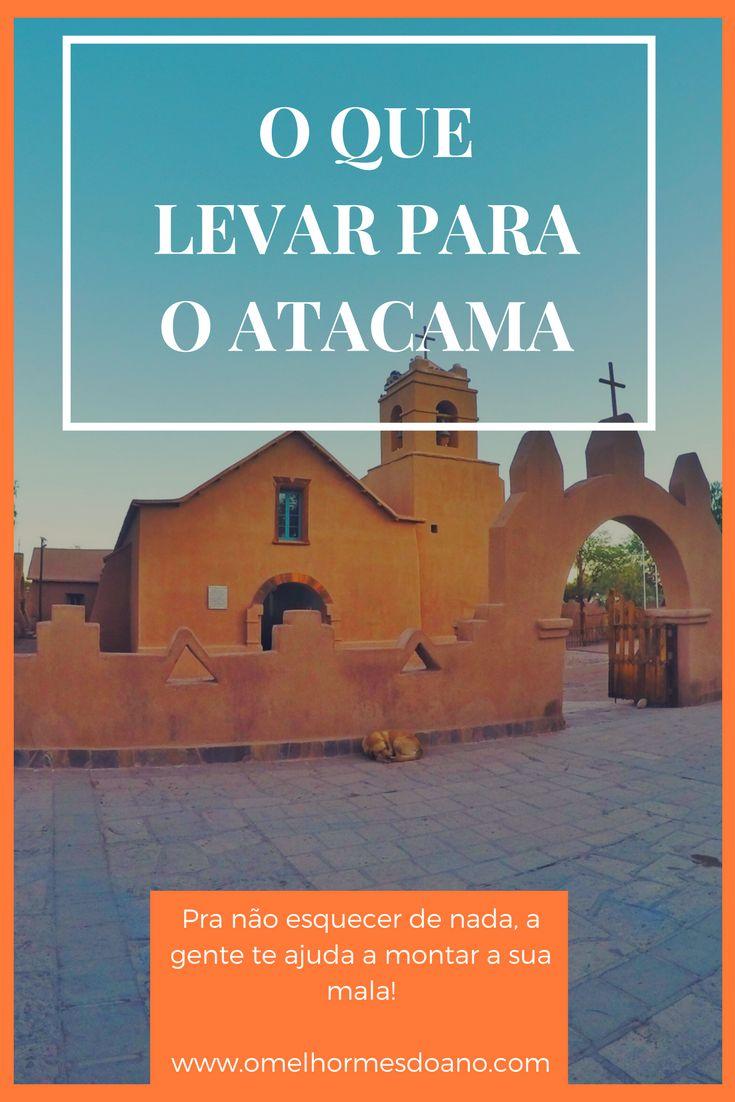 Cada estação do ano pede um tipo de roupa, mas tem coisas imprescindíveis em todas as malas ou mochilas para o Atacama. O deserto mais árido do mundo tem seus detalhes e esquecer óculos de sol, protetor solar ou hidratante pode ser fatal. Na foto, a igreja de San Pedro de Atacama.
