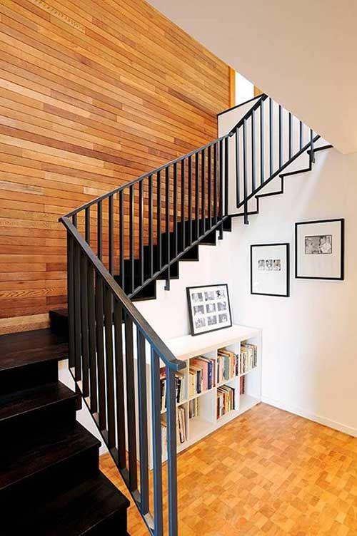 Дизайн пространства под лестницей: 77 фото подлестничного оформления