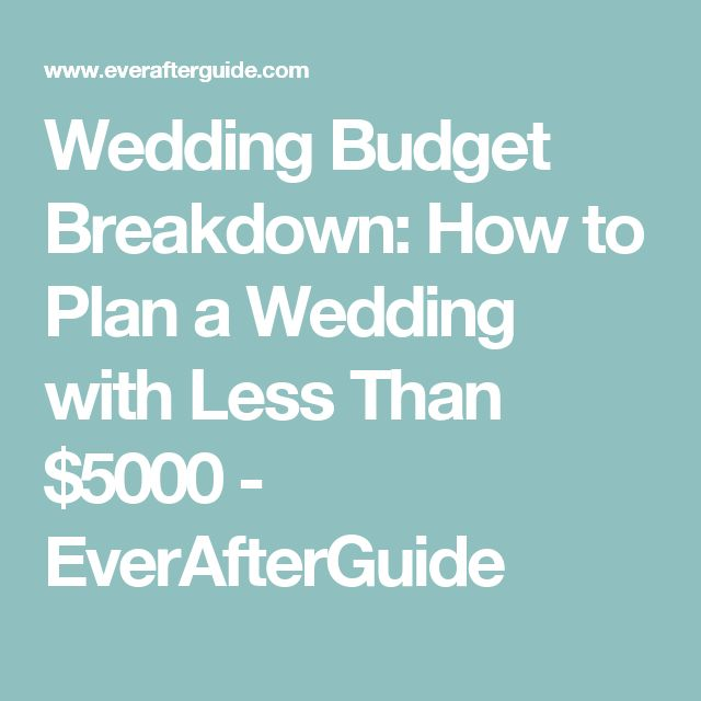Best 25+ Wedding budget breakdown ideas on Pinterest Wedding - sample wedding budget