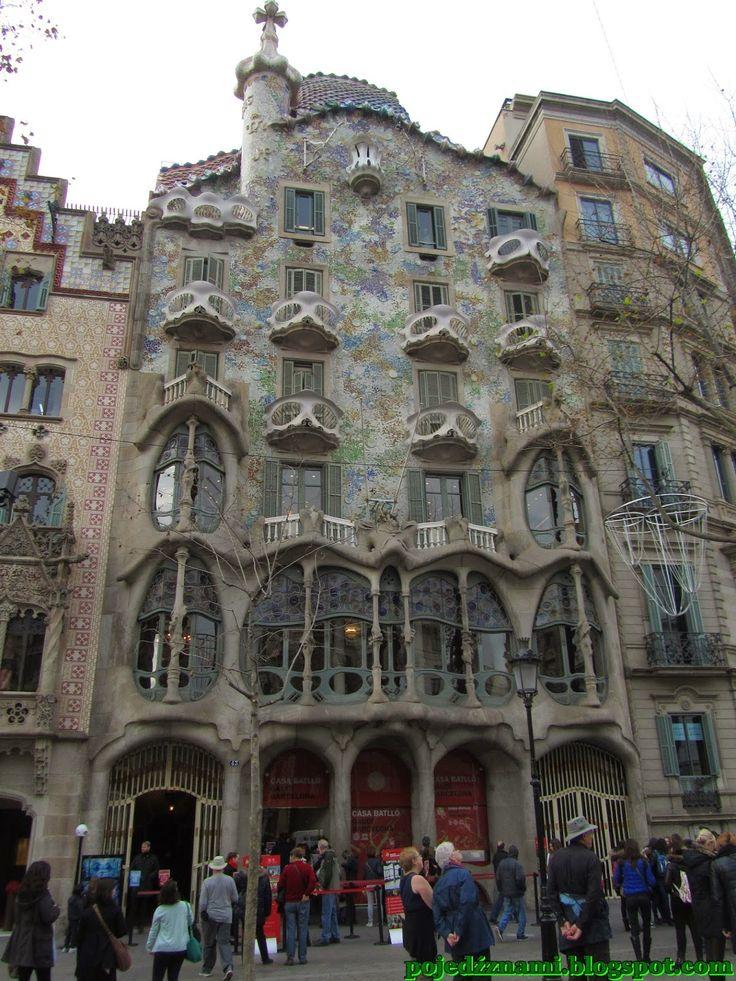 Pojedź z nami: Barcelona. Dzień 1 - Dzielnica Eixample