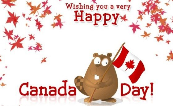 Happy Canada day (July 1) Wishes & Greeting Message Card & Ecard Image #canadaday # canada #1stjuly