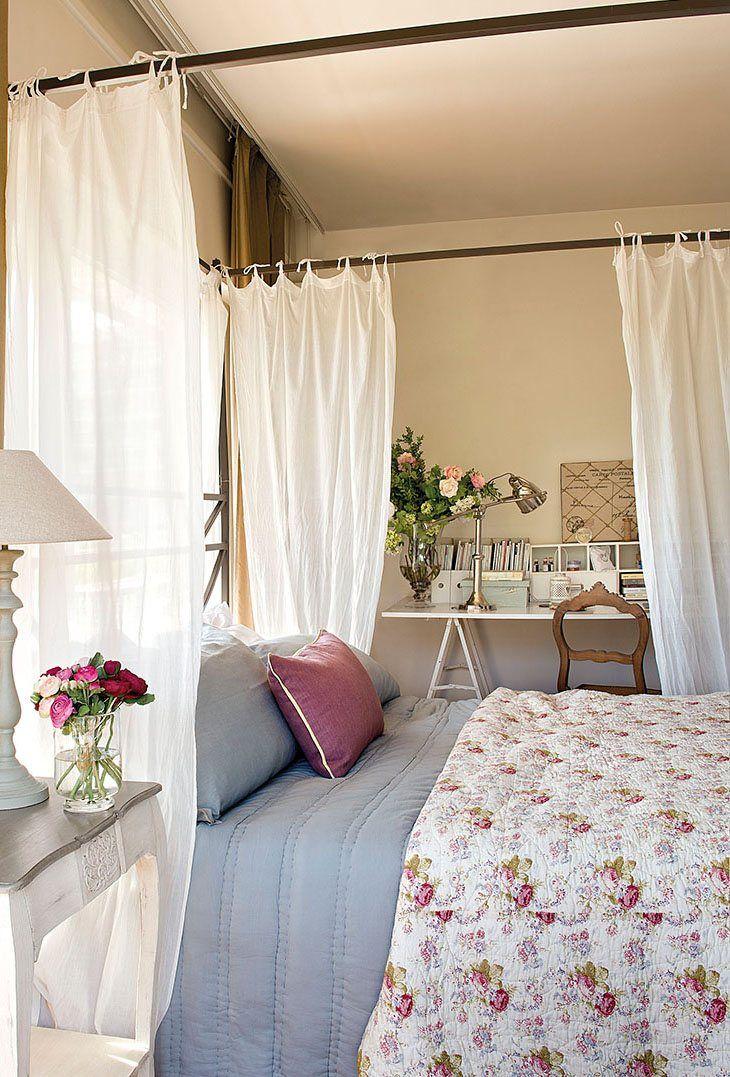12 dormitorios peque os y acogedores - Ideas dormitorios pequenos ...