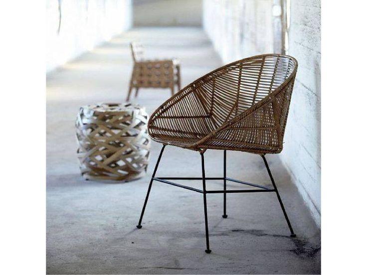 House Doctor Retro rattan chair