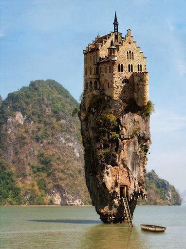 La Isla del castillo se encuentra en Dublin- Irlanda.