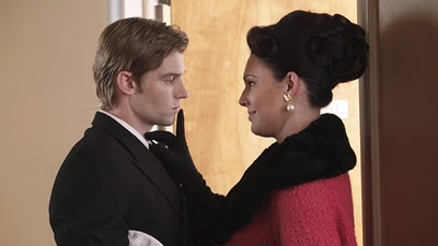 """Dean (Mike Vogel) and Ginny (Erin Cummings) in Pan Am 1.6: """"The Genuine Article"""""""