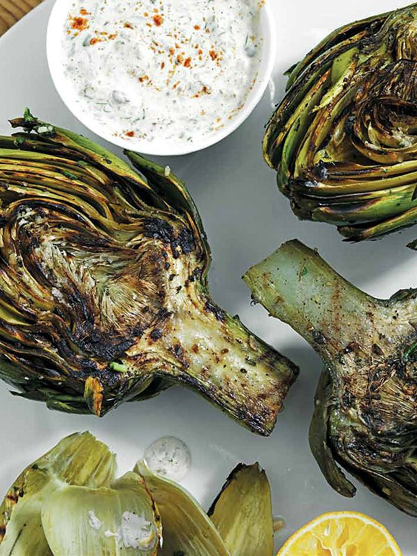 Charred artichokes from Top Chef's Richard Blais make it easy to eat your veggies—yum!