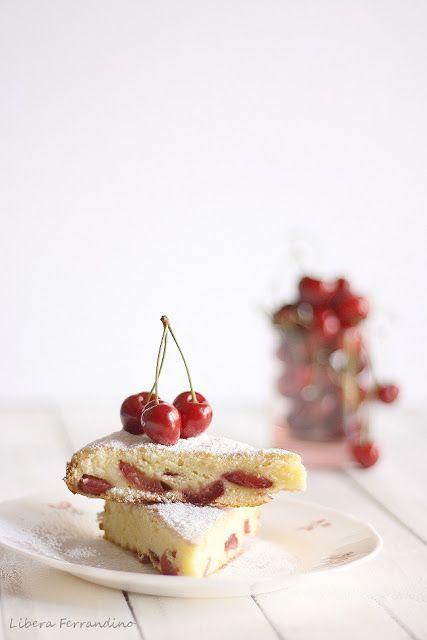 torta fiOrdilatte con ciliegie senza glutine