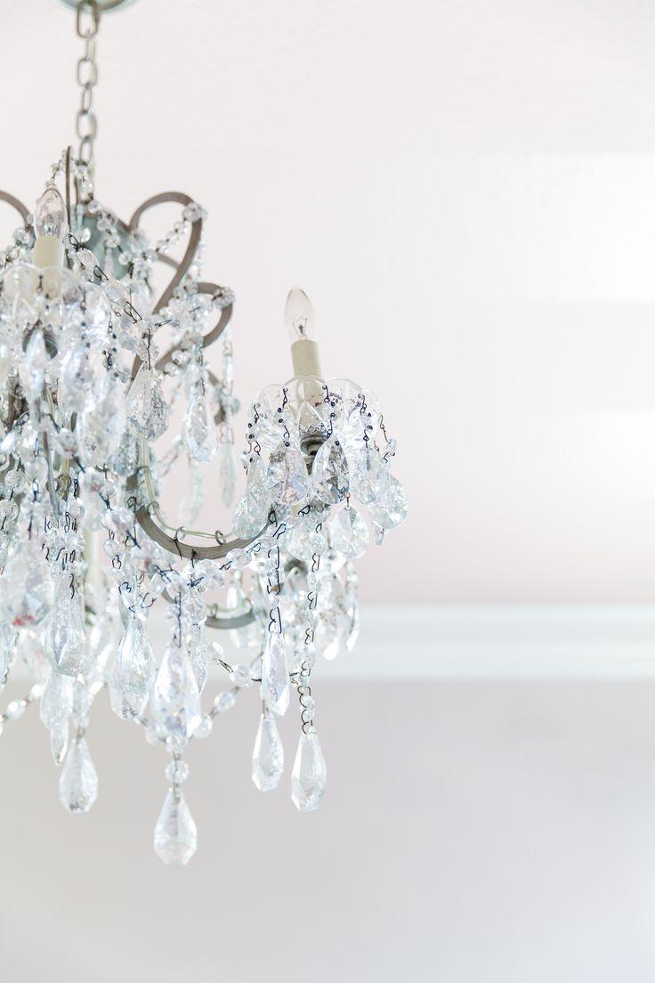 1000 Ideas About Girls Bedroom Chandelier On Pinterest