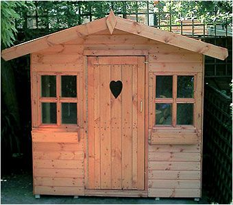 The Little House is a perfect little playhouse for your children, standing only 5ft high. Avaiable to order from Adrian Hall Garden Centres, Feltham