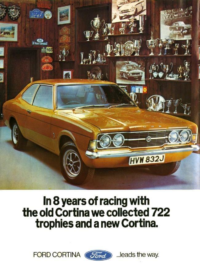 1970 Ford Cortina Mk III