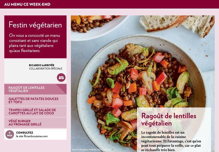 Festin végétarien - La Presse+