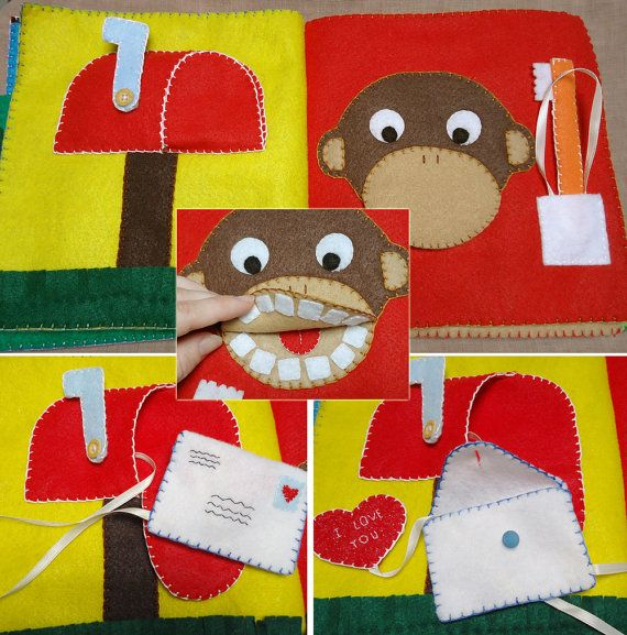 If you have always wanted to purchase a cloth busy book for your toddler but cant afford the high prices, this do-it-yourself pattern and instruction manual is for you! Whether you can hand sew, machine sew or cant sew a stitch, youll be able to make this lovely felt quiet book. All three types of instructions are included with the pattern.    Busy books make wonderful quiet time activities for nap time, car rides, plane rides, doctors offices or church services. This busy book contains no…