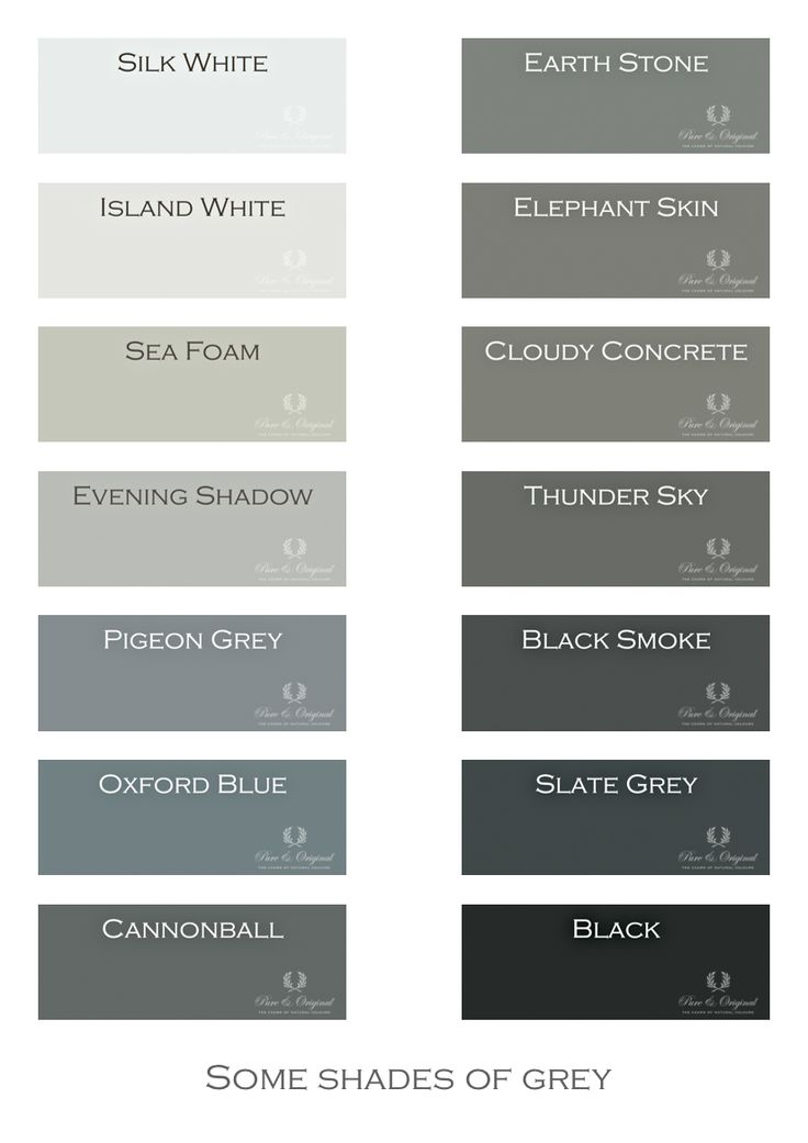 I LOVE GRAY!  Shades of Grey. Chalk Paint, Lime Paint, Floor Paint and more. Colors in Lime Paint, Chalk Paint and much more. Take a look at our website.