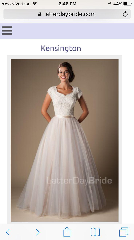 Kensington latter day bride