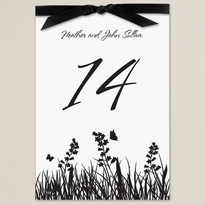 table number cards - Google Search