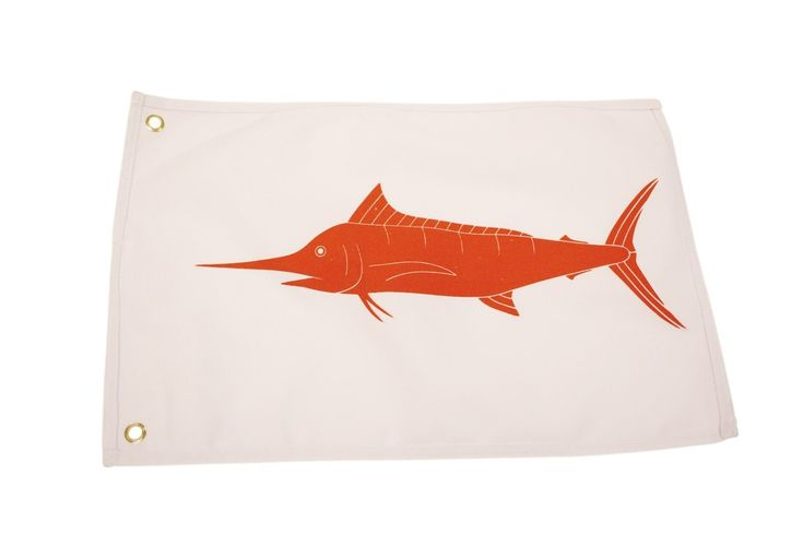 Marlin Catch and Release Boat Flag  #angler #fishingtrip #fishinglife #fishing #saltwaterlures #saltwaterfishing #saltwater
