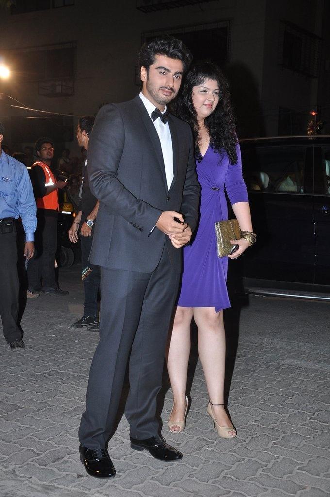 Arjun Kapoor at 58th Filmfare Awards.