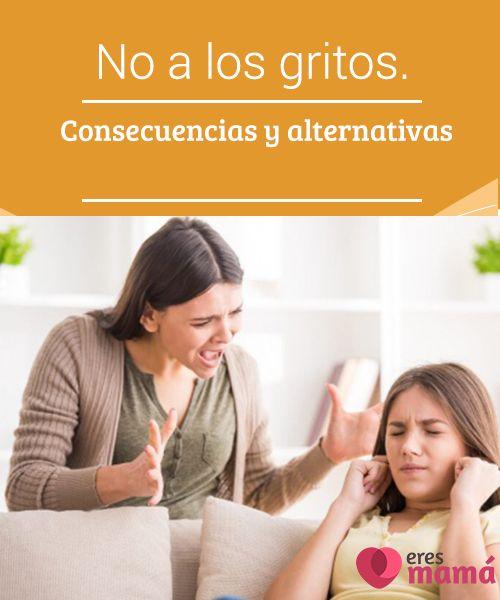 No a los #gritos. Consecuencias y alternativas   No a los gritos, es algo a tener en cuenta a la hora de #fortalecer la #relación entre #padres e #hijos, pues la #violencia verbal es una alternativa peligrosa.