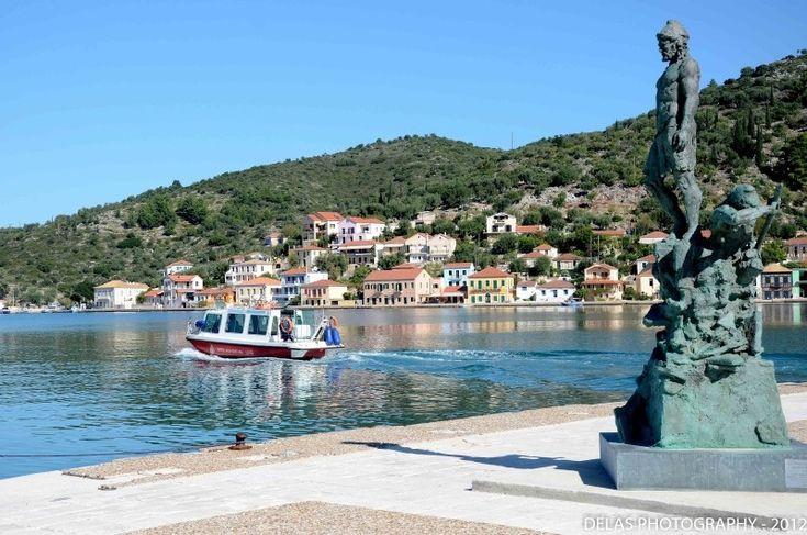 Statue of Odysseus Ithaca GREECE