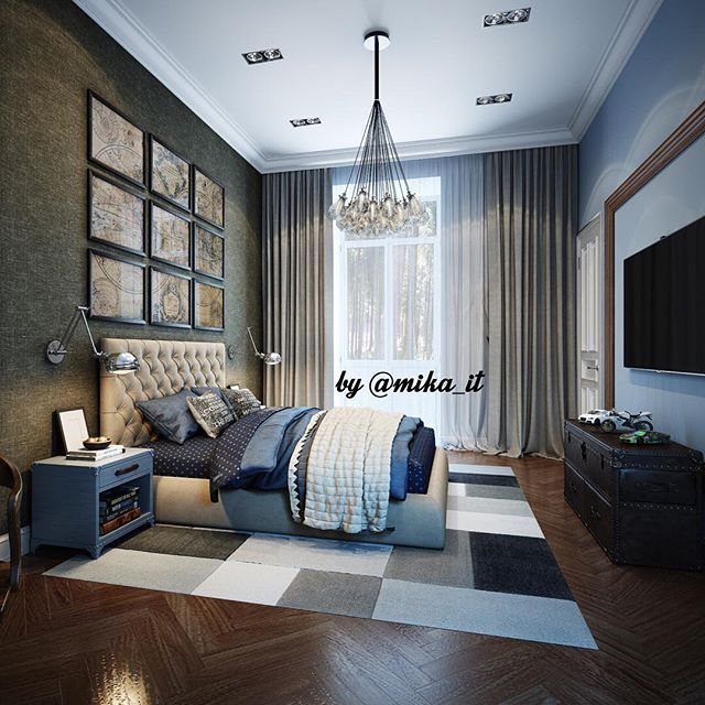 Мои домики. Спальня для молодого человека. #egorova_marina #domoff_group #domoff_interiors #domof