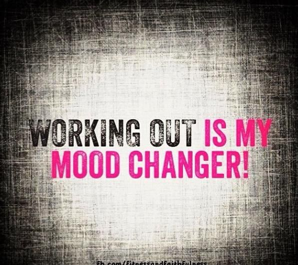 So true...working out makes me feel good about myself--I think that's how it is for a lot of people.