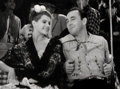 Rita Hayworth and George O'Brian in ''Renegade Ranger''  1938