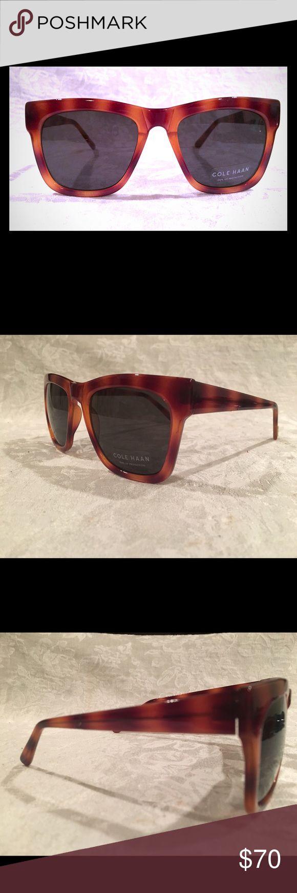 Cole Hakan women's sunglasses. NEW!!! Tortoiseshell body with dark lenses. Classic. NEW!! Cole Haan Accessories Sunglasses