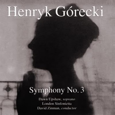 This is one of the CDs I lost back in the burglary of 2003 ... and yesterday I just happened to see it at the library. I picked it up and have been listening to it. Forgot how much I missed it.: Sorrow Songs, Classic Music, Inspiration Music, Opus 36, Górecki Symphoni, Henryk Górecki, Gorecki Symphoni, Dawn Upshaw, Henryk Gorecki