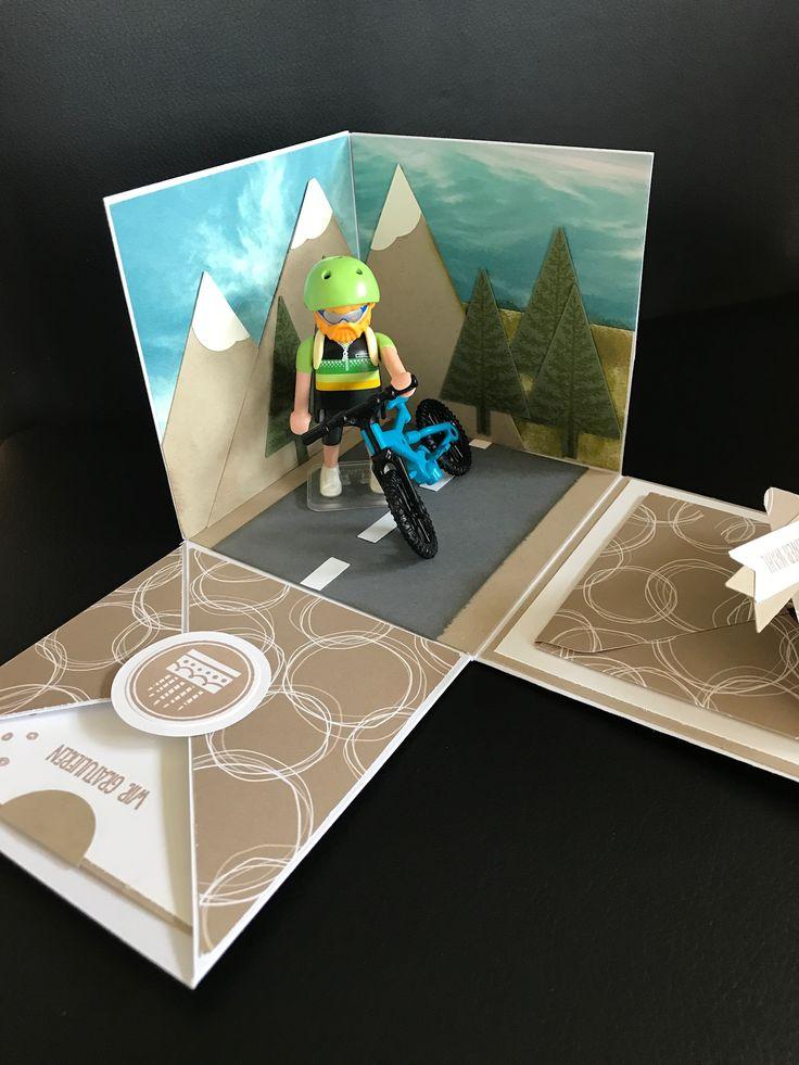 Explosionsbox, Gutschein, Fahrrad