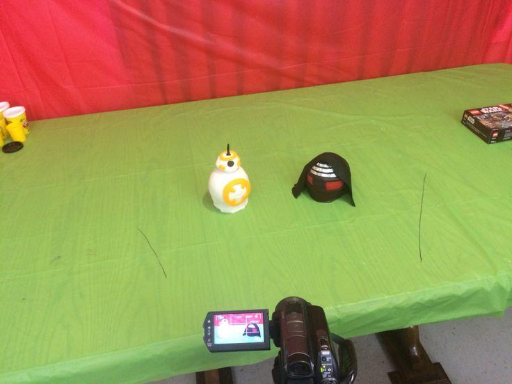 Bb8 and KYLO Ren playdoh eggs