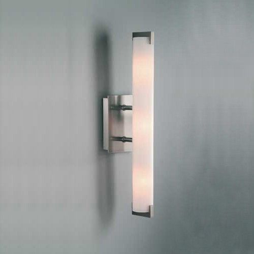 Modern Bathroom Wall Sconce Plans Brilliant Review