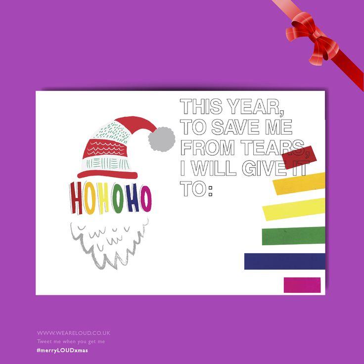 #merryLOUDxmas