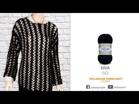 Tığ işi mevsimlik bluz - Seasonal blouse by crochet - YouTube
