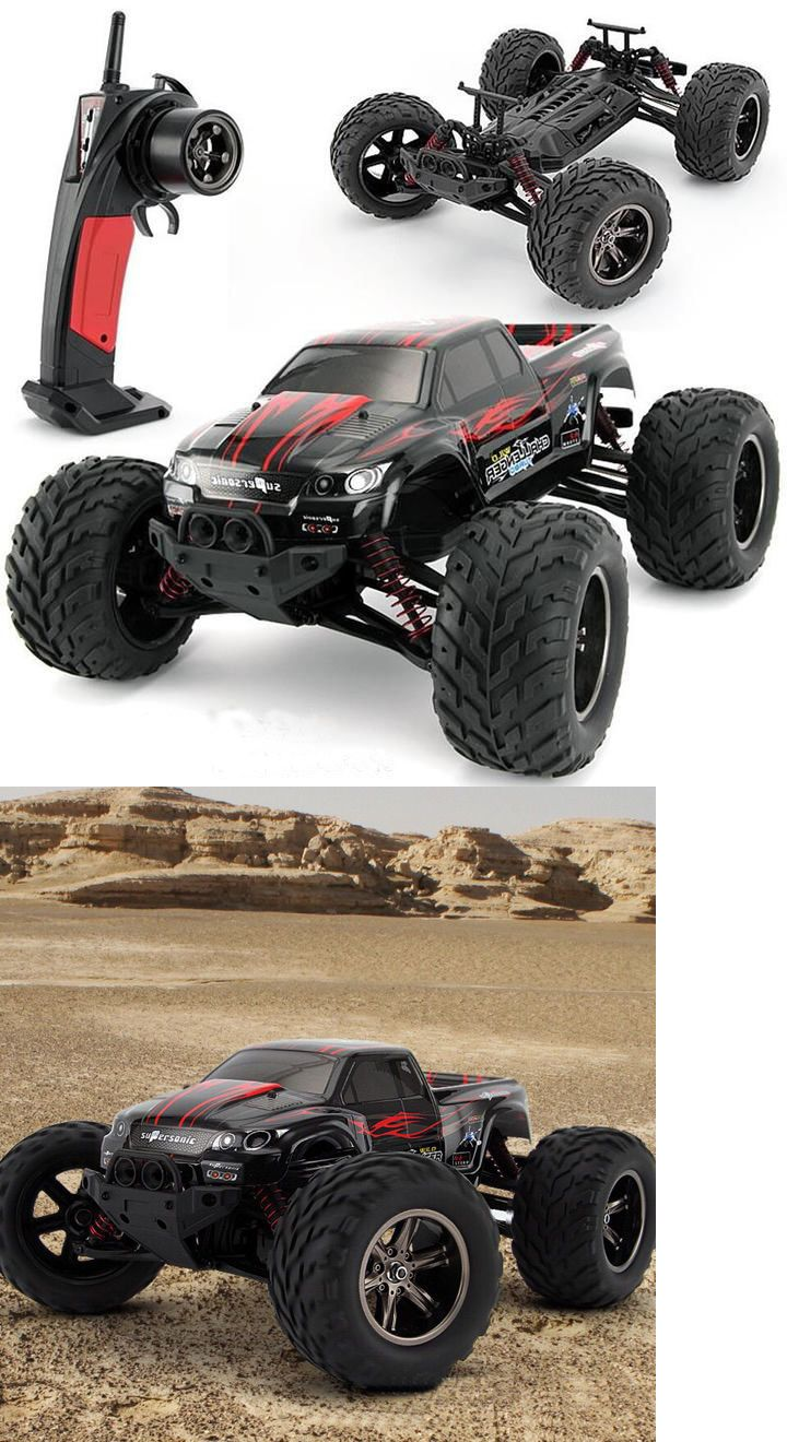 Cars trucks and motorcycles 182183 rc monster truck car electric remote control fast speed rtr