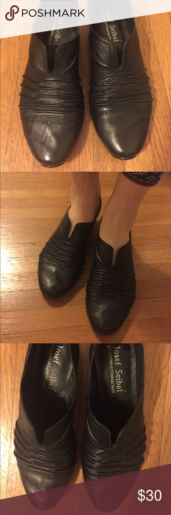 Leather shoes Good condition, soft and comfortable small heel Josef Seibel Shoes